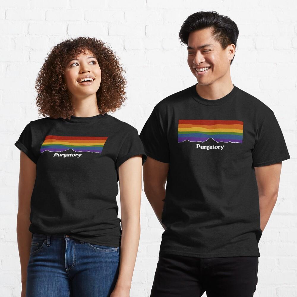 Purgatory Pride Rainbow Sunset - Wynonna Earp Classic T-Shirt