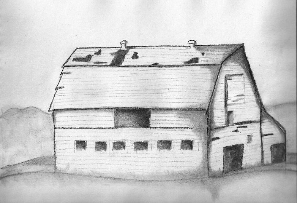 Old Barn by lorileeg