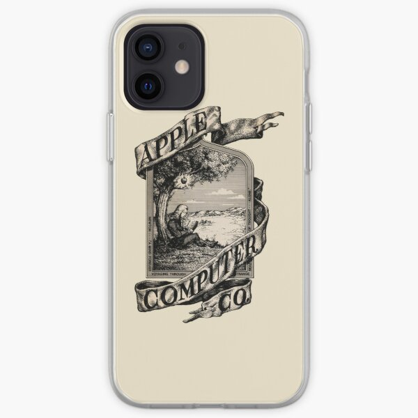 Apple Computer Co. | First logo iPhone Soft Case
