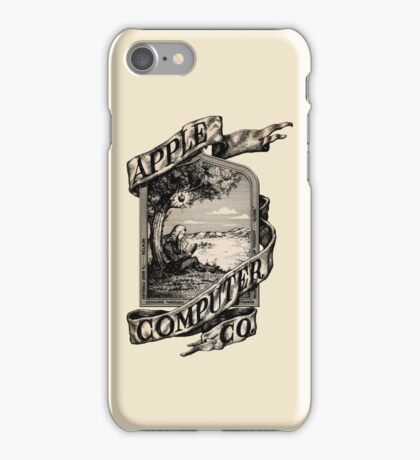 Apple Computer Co. | First logo iPhone Case/Skin
