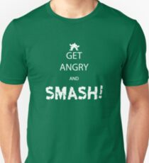 Get Angry and Smash! Unisex T-Shirt