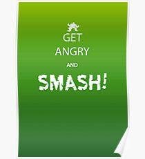 Get Angry and Smash! Poster