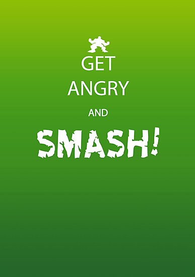 Get Angry and Smash! by Iain Maynard
