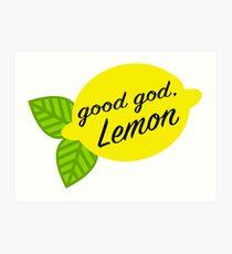 Good God, Lemon Art Print