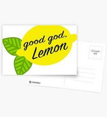 Guter Gott, Zitrone Postkarten