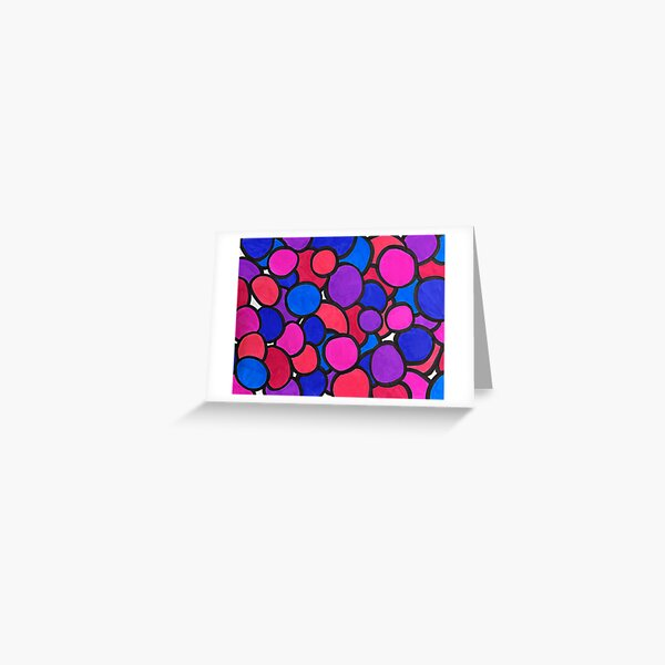 Geometric Shapes Greeting Cards Redbubble
