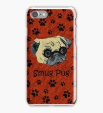 Adorable Smug Pug iPhone & iPod Cases iPhone Case/Skin