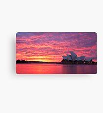 Sublime Sydney Sunrise Canvas Print