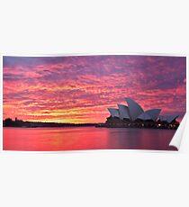 Sublime Sydney Sunrise Poster
