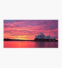 Sublime Sydney Sunrise Photographic Print