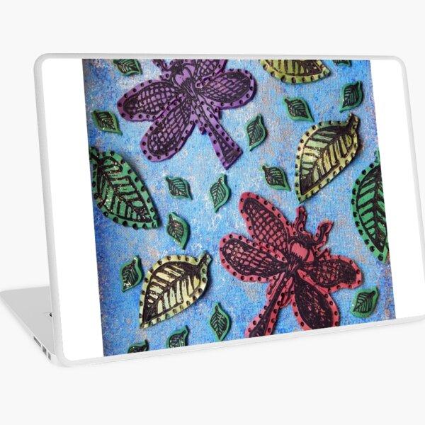 Dragonflies in Flight Laptop Skin