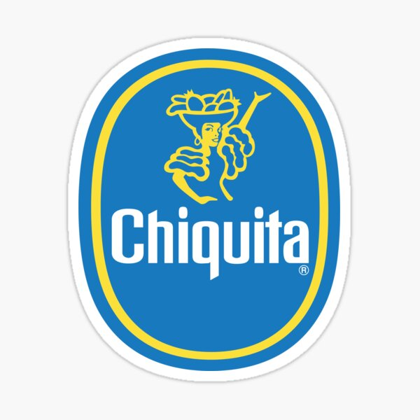 Chiquita Sticker