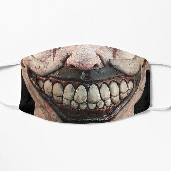Scary clown face Mask Flat Mask