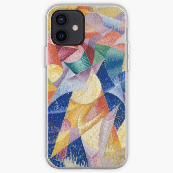 artist, painter, craftsman, Gino Severini, futurism, futurist, art iPhone Soft Case