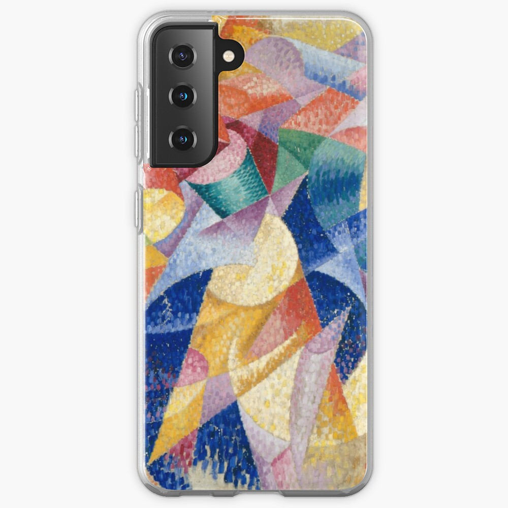 artist, painter, craftsman, Gino Severini, futurism, futurist, art Samsung Galaxy Phone Case
