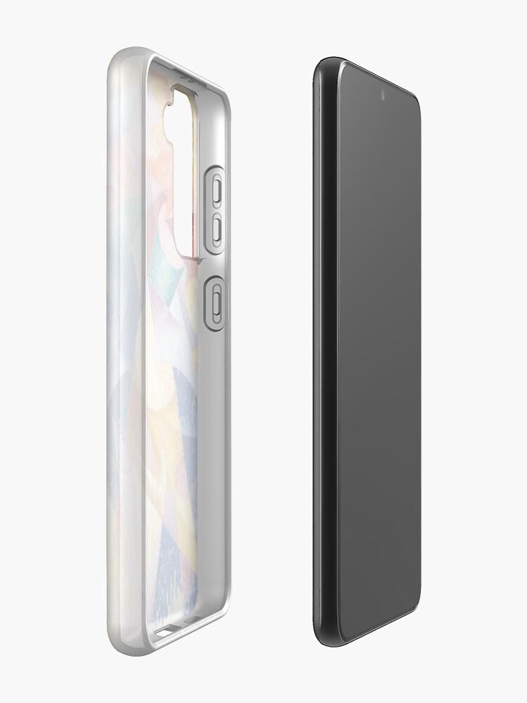 Alternate view of artist, painter, craftsman, Gino Severini, futurism, futurist, art Samsung Galaxy Phone Case