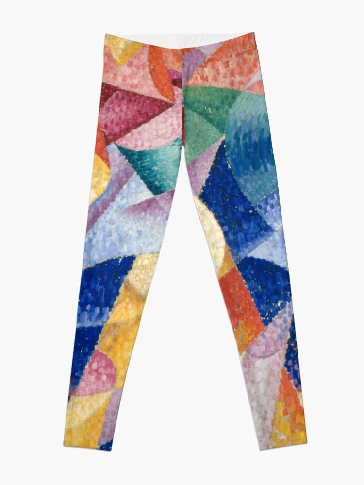Alternate view of artist, painter, craftsman, Gino Severini, futurism, futurist, art Leggings