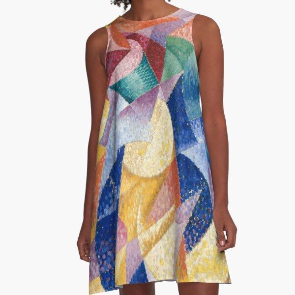 artist, painter, craftsman, Gino Severini, futurism, futurist, art A-Line Dress