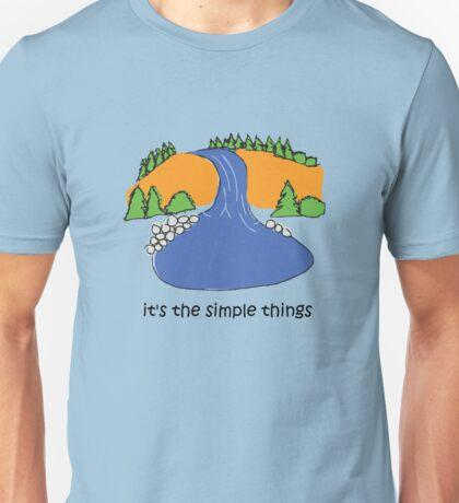 Simple Things - Waterfall T-Shirt