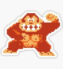 Donkey Kong 8 Bit Sticker