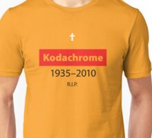 R.I.P. Kodachrome Unisex T-Shirt