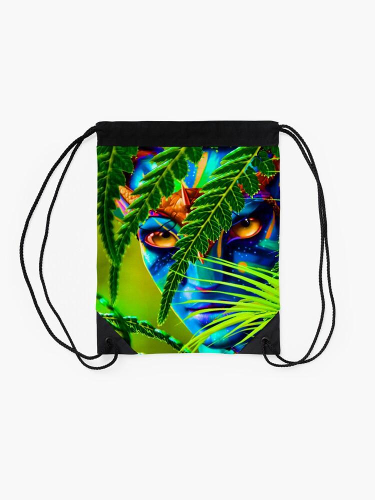 Alternate view of World of Pandora - Avatar - Neytiri Drawstring Bag