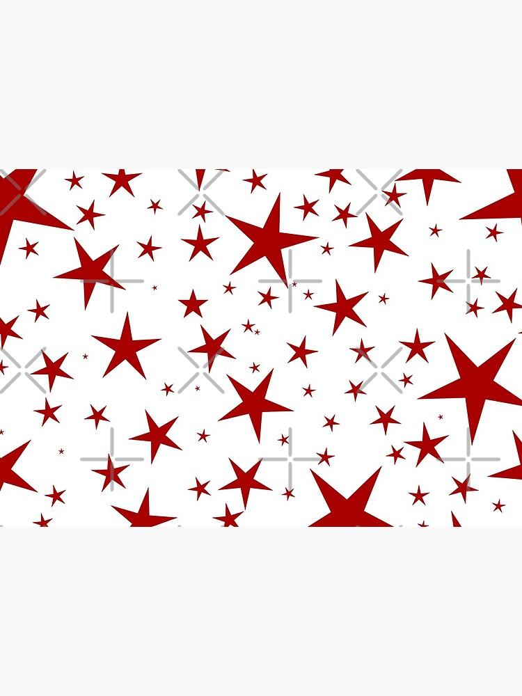 NDVH Stars (red on white) by nikhorne