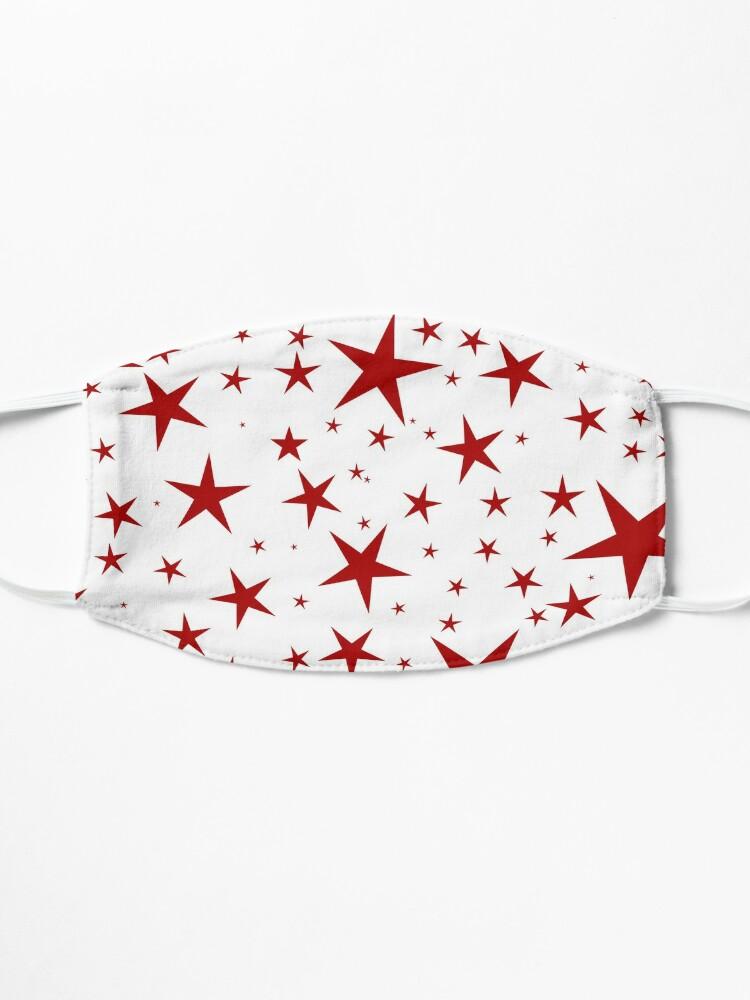 Alternate view of NDVH Stars (red on white) Mask