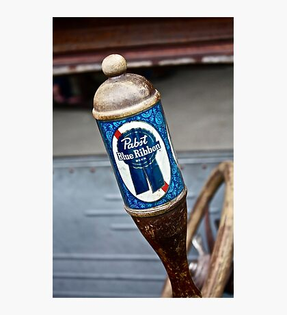 Pabst Blue Ribbon Beer Photographic Print