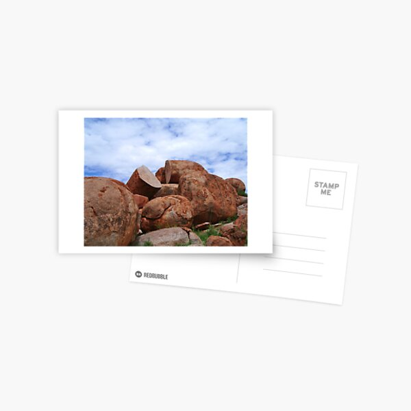 Broken Rocks Postcard