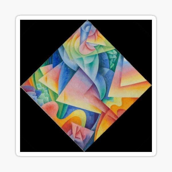 Dancer = Propeller = Sea, 1915, Gino Severini, Italian, Oil on canvas Sticker