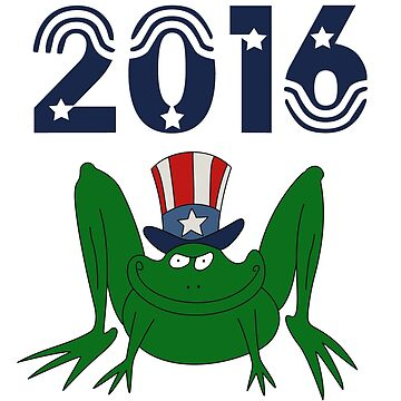 2016 VOTE for FROG by antonogzon