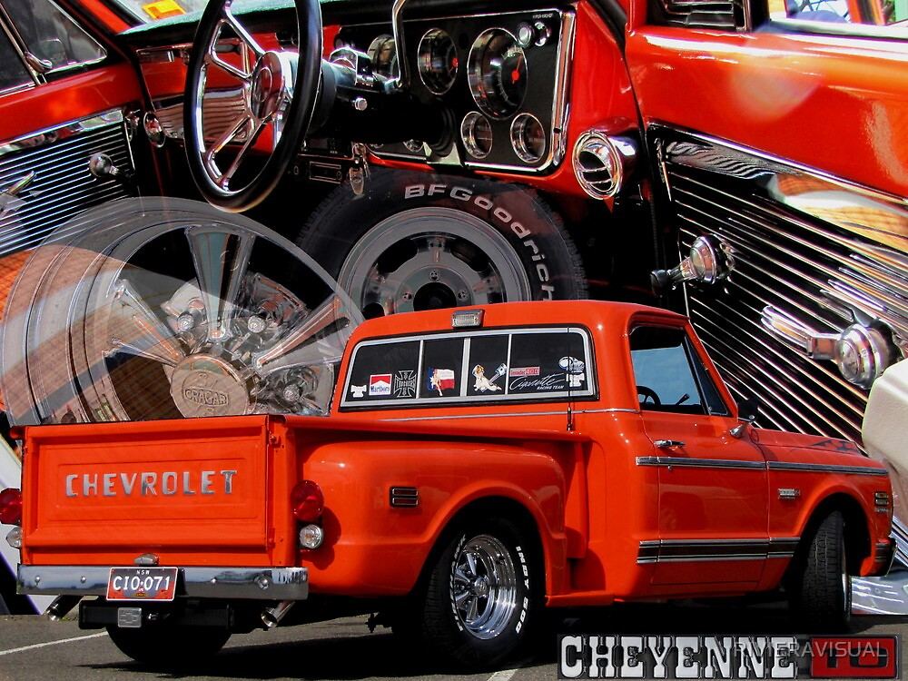 1971 C10 Stepside by RIVIERAVISUAL