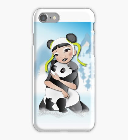 Twisted - Wild Tales: Funi and the Panda iPhone Case/Skin