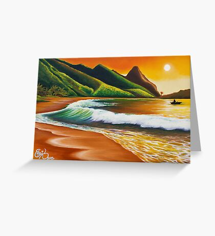 Land of Lucidity - greeting card Greeting Card