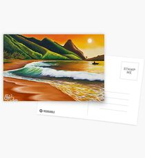 Land of Lucidity - greeting card Postcards
