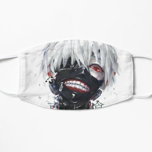 Kaneki Ken de Tokyo Ghoul Mascarilla plana