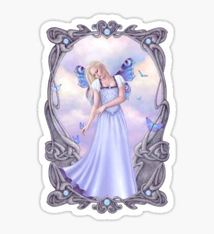 Opal Birthstone Fairy Sticker