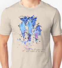 Three Billy Goats Gruff (ain't scared of no troll!) Unisex T-Shirt