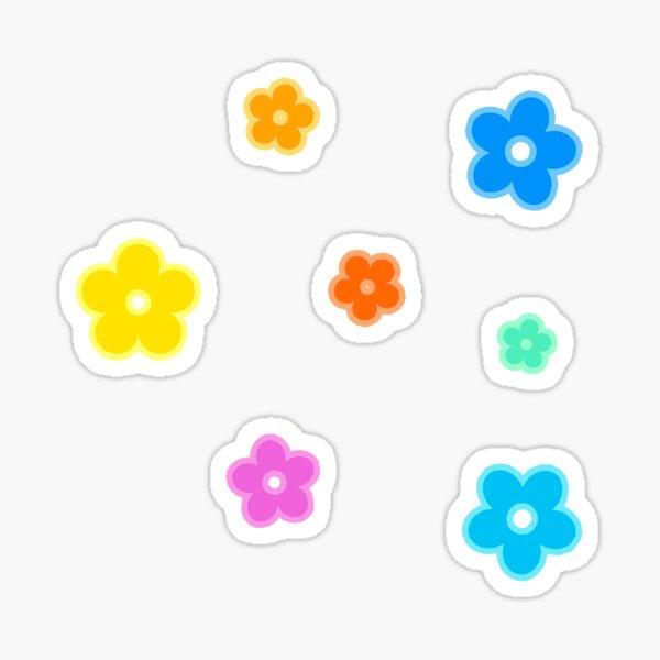 Flower Set Sticker