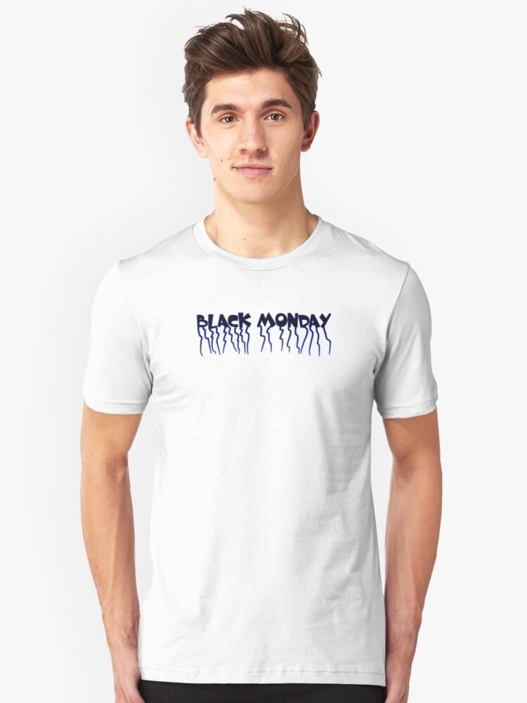 Black Monday Unisex T-Shirt Front