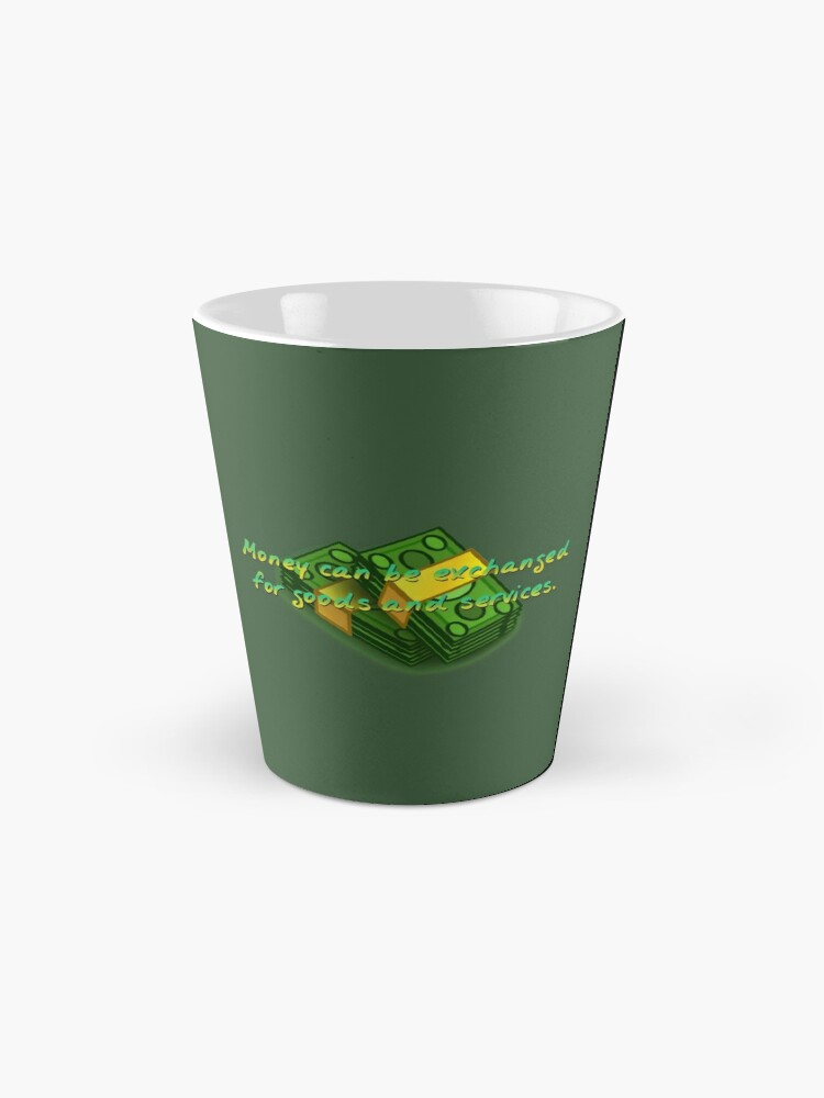 Alternate view of Money Can Be Exchanged - Simpsons Design Mug