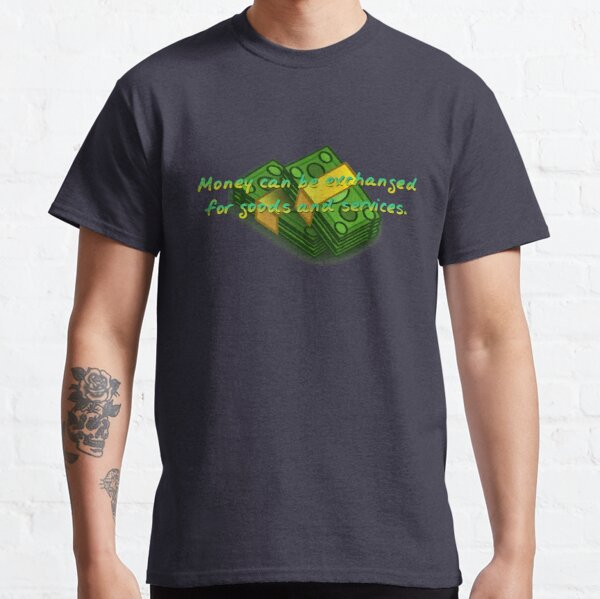 Money Can Be Exchanged - Simpsons Design Classic T-Shirt