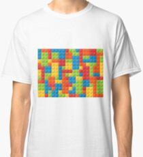 Colourful Lego Bricks  Classic T-Shirt