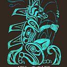 FurBQ T-Shirt - Blue by EchoesLight