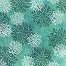 Frozen Flowers by OpenArtStudio