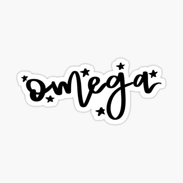Omega - Greek Letter Sticker
