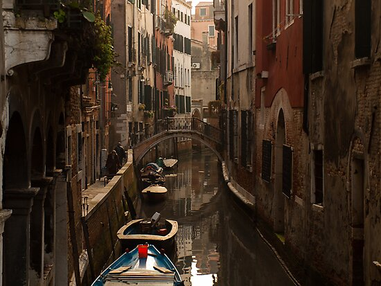Afternoon Canal by Lachlan Downing