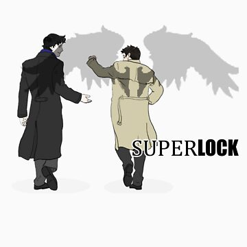 Sherlock and Castiel - SuperLock by cyaxares