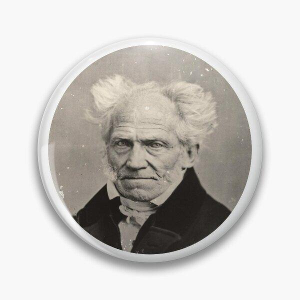 Arthur Schopenhauer (sticker) Pin